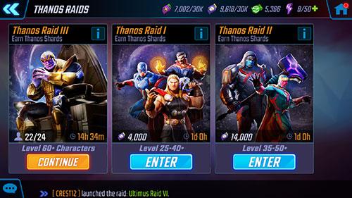 MSF - Thanos Raid