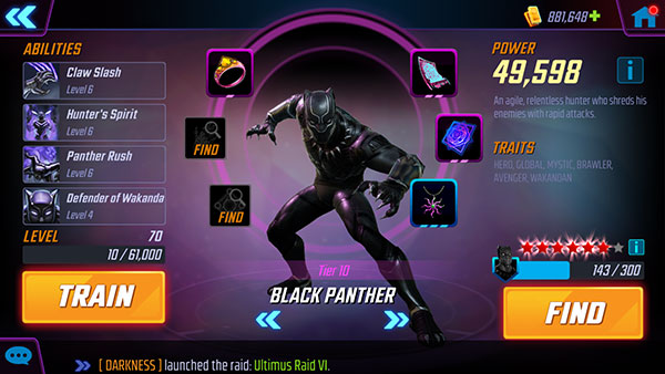 MSF - Black Panther