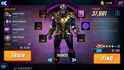 MSF - Thanos