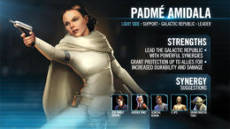 SWGoH - Padme Amidala