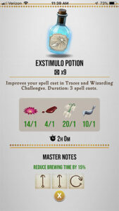 HPWU Exstimulo Master Notes