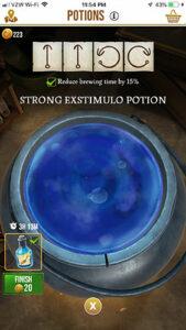 HPWU - Potion i fortë Exstimulo