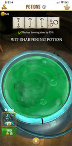 HPWU - Wit Sharpening Potion