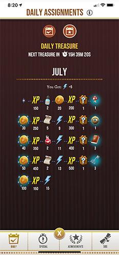 HPWU - Login Calendar