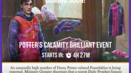 Bencana Potter HPWU