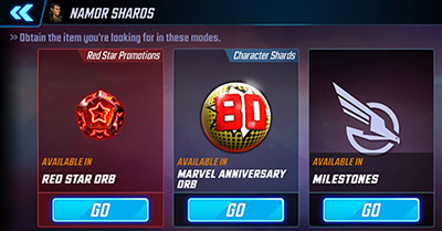 MSF - Namor Shards