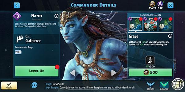 Nanti - Avatar Pandora Rising