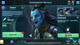 Tserat - Avatar Pandora em ascensão