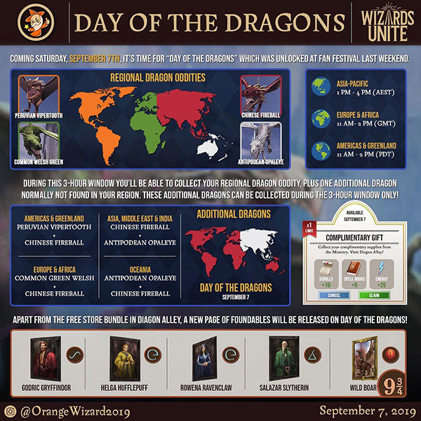 HPWU - Day of the Dragons