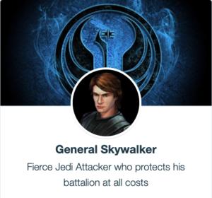 SWGoH - Generał Skywalker