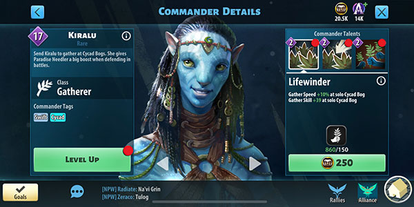 Kiralu - Avatar Pandora Rising