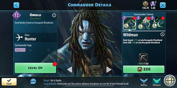 Omolu - Avatar Pandora Rising