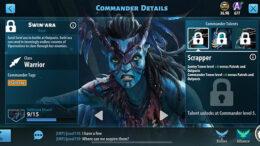 Swin'ara - Avatar Pandora Rising