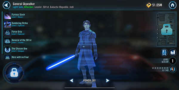 General Skywalker - SWGoH