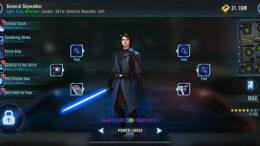 SWGoH - Seanalair Anakin Skywalker