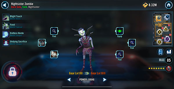 Nightsister Zombie - SWGoH