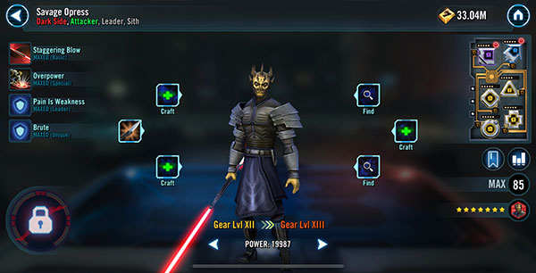 SWGoH - Savage Opress