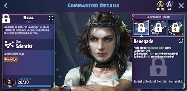 Reza - Avatar Pandora Rising