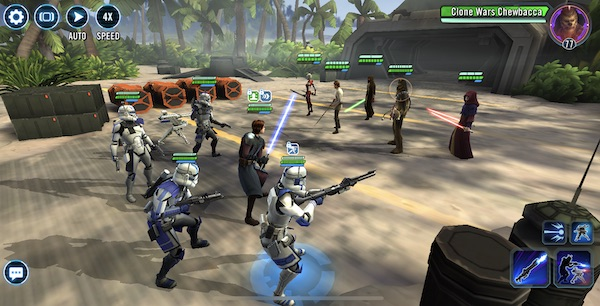SWGoH - 501st legion