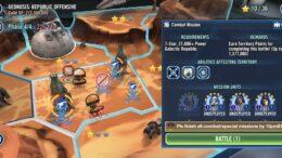 SWGoH - Geonosis Territory Battle