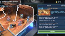 Battaglia del territorio di geonosi di fase 1 - Jedi