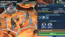 SWGoH - Μάχες επικράτειας