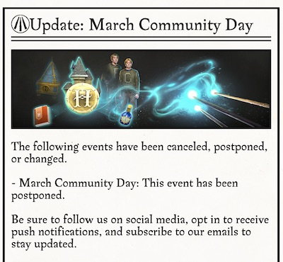 HPWU يلغي يوم المجتمع
