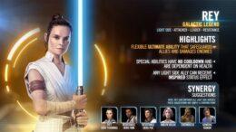 SWGoH: Galactic Legend Rey