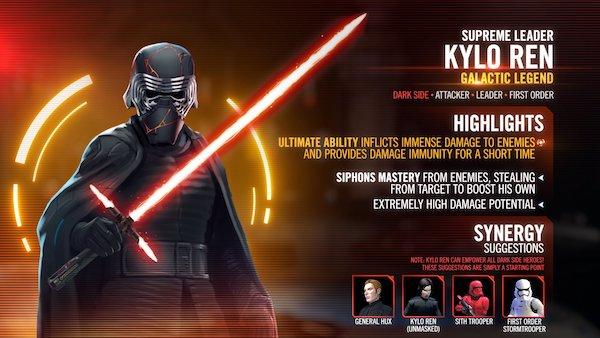 SWGoH: Supreme Leader Kylo Ren