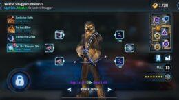 SWGoH - Βετεράνος λαθρέμπορος Chewbacca