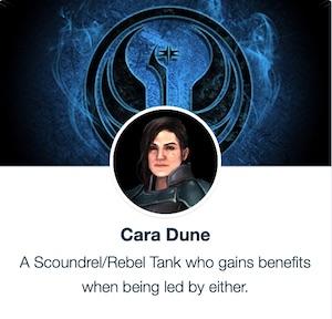 SWGoH - Cara Dune