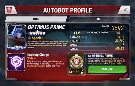 TFEW - Optimus Prime