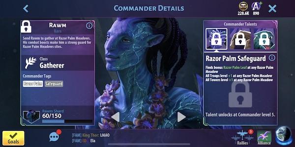 Rawm - Avatar Pandora Rising