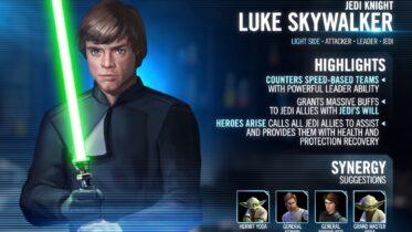 Jedi Knight Luke Skywalker
