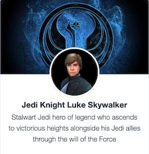 Jedi Knight Luke Skywalker - SWGoH