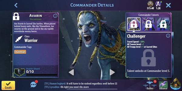 Avarin - Avatar Pandora Rising