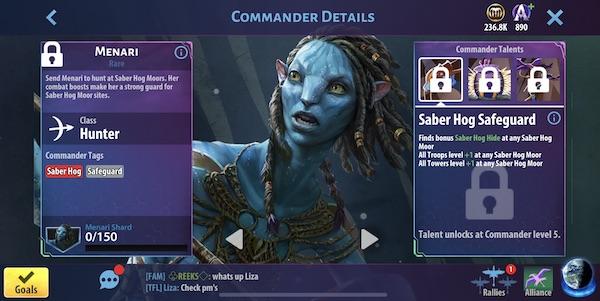 Menari - Avatar Pandora Rising
