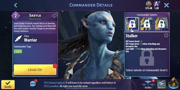 Saeyla - Avatar Pandora u usponu