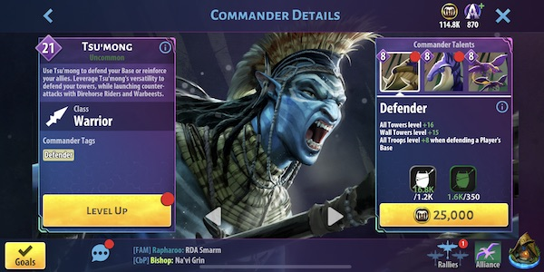 Tsu'mong - Avatar Pandora Rising