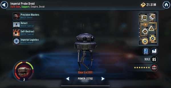 Imperial Probe Droid - SWGoH