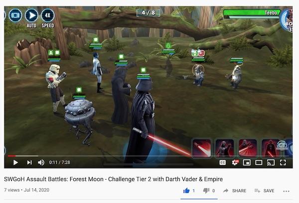 Batalhas de Assalto - Forest Moon