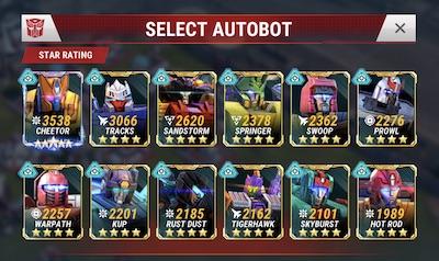 TFEW Bots