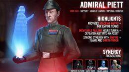 Admirali Piett - SWGoH