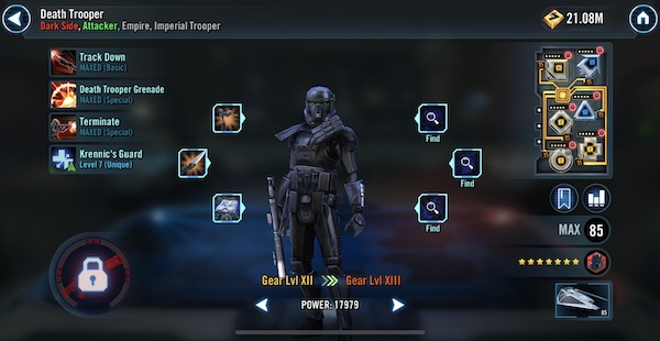 Death Trooper - SWGoH