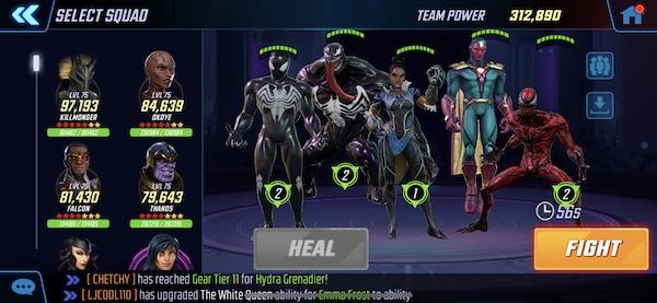 MSF - Symbiotes, Vision & Shuri