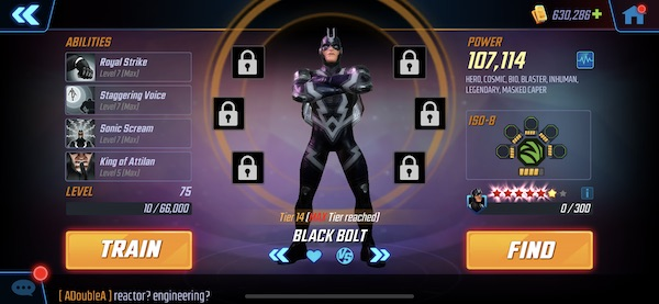 MSF - Black Bolt