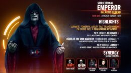 Sith Eternal Emperor-은하계 전설