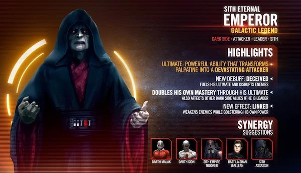 Sith Eternal Emperor - Galactic Legend