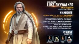 Mestre Jedi Luke Skywalker