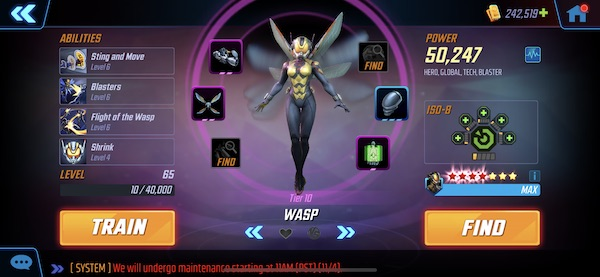 Wasp - MSF